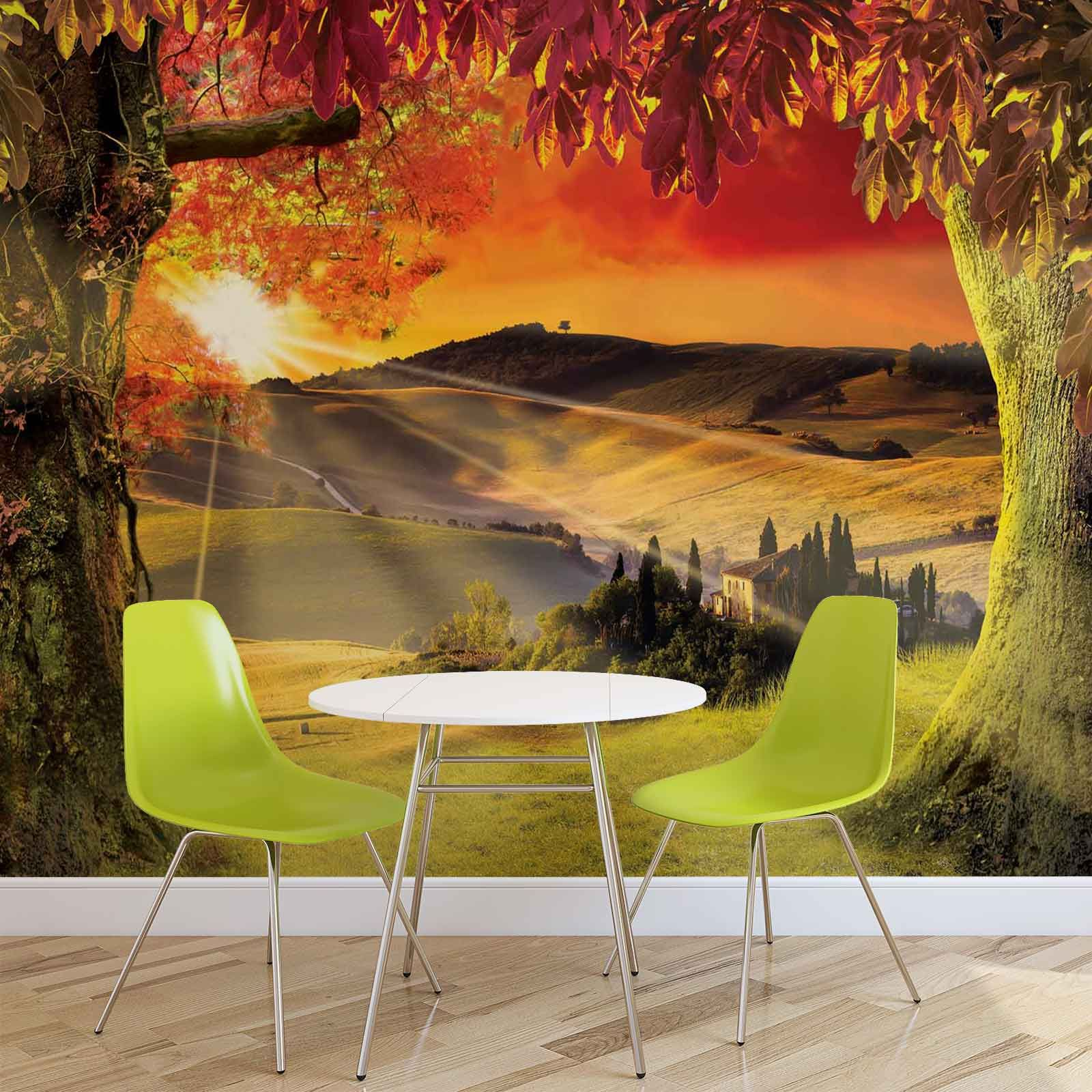 Giant Size Wall Mural Wallpapers Landscape Italian